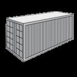 Стандартный 20 футовый контейнер