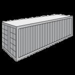 Стандартный 40 футовый контейнер